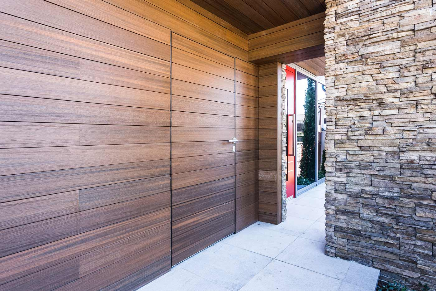 Installazione di porte e finestre in alluminio residenza privata a settimo torinese - Porte e finestre in alluminio ...