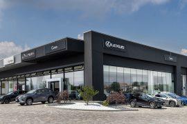 Millone Serramenti ha progettato e realizzato serramenti per Lexus (Cuneo)
