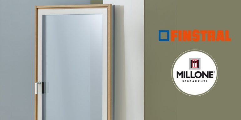 Cristal, finestre tutto vetro Finstral disponibili da Millone